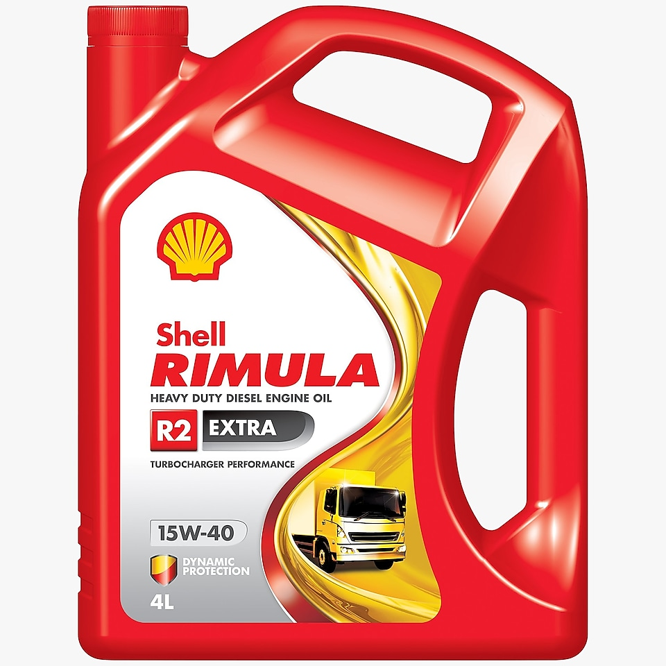 Packshot of Shell Rimula R2 Extra 4 L