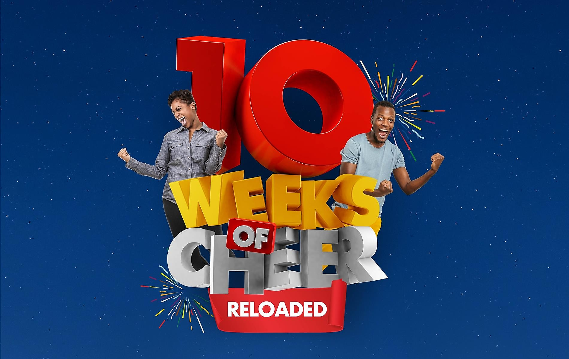 Win over 400M worth of prizes in 10 Weeks!